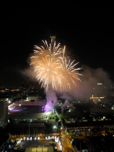 Fireworks National Stadium
