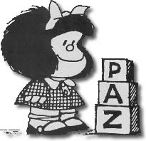 Mafalda - paz